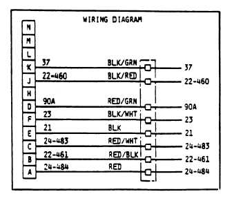 TM 10 4610 215 24_83_2 figure 27 trailer cable, wiring diagram (army) military trailer wiring diagram at eliteediting.co