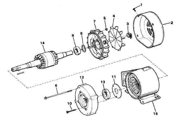 Pump+motor+drawing