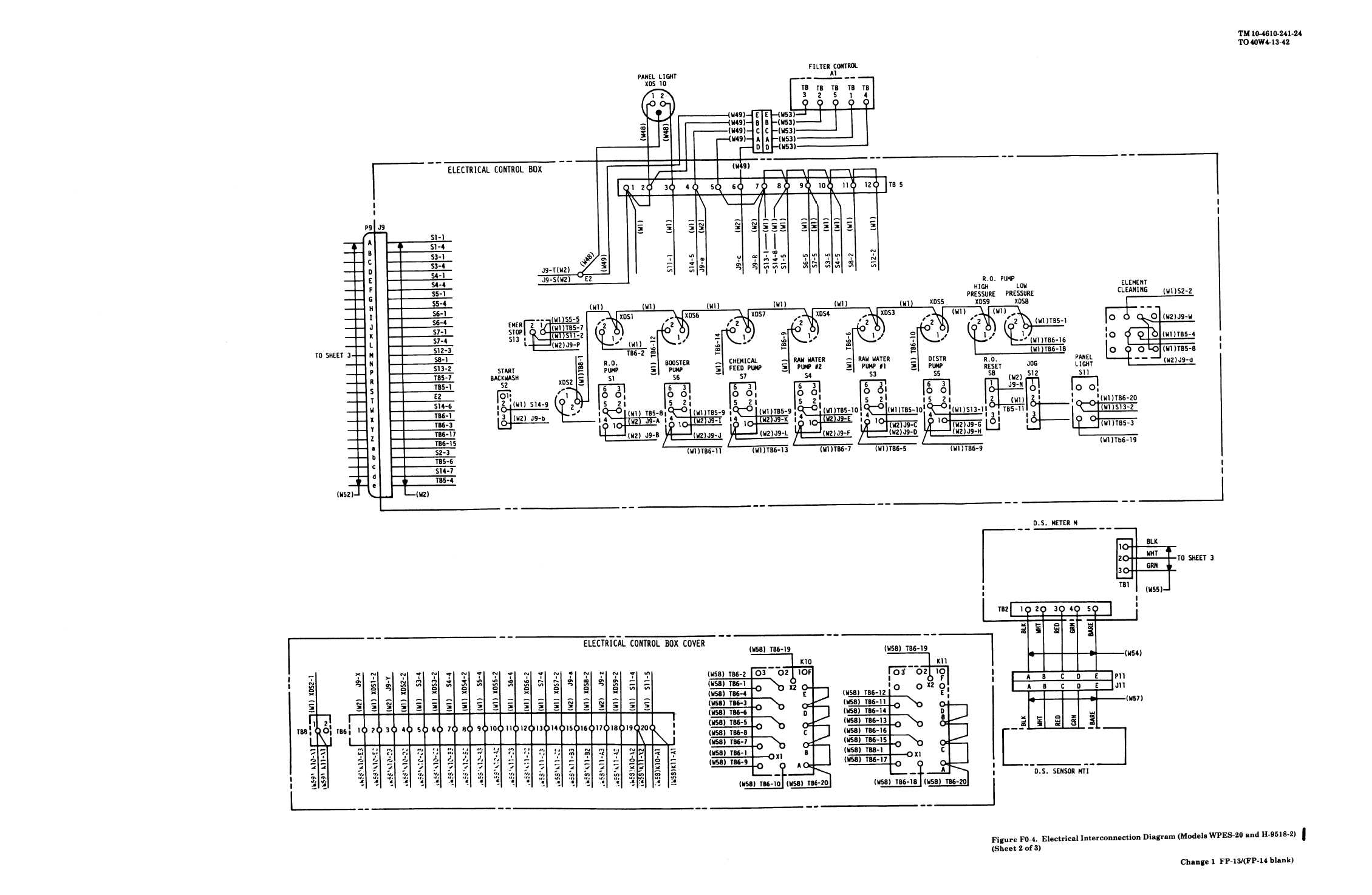 figure fo    electrical interconnection diagram  sheet  of  electrical interconnection diagram  sheet  of