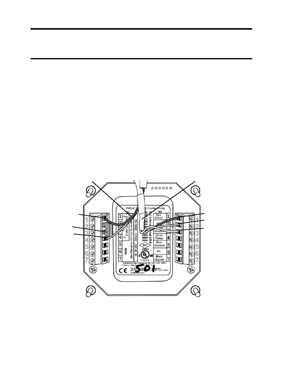 figure 2  flow transmitter wiring terminal designations
