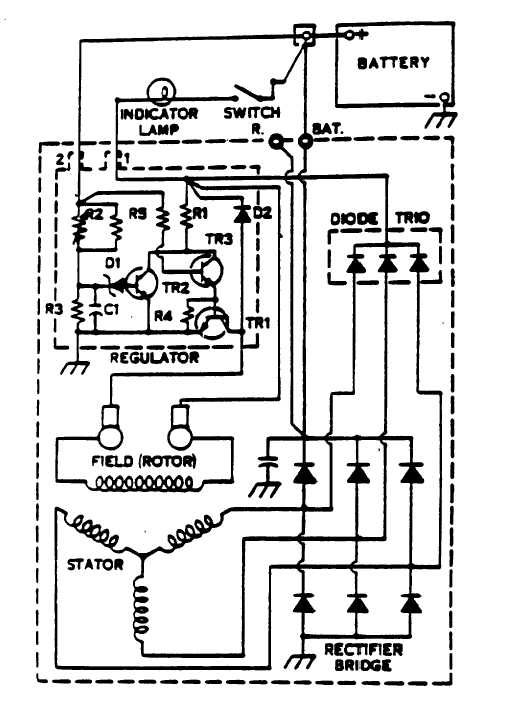[DIAGRAM_5FD]  Figure 5-6. Delcotron Alternator Internal Wiring Diagram. | Delcotron Wiring Diagram |  | Water Decontamination Manuals - Integrated Publishing