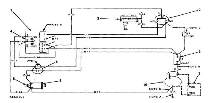 Diagram  Basic Fuel Shutoff Solenoid And Starter Wiring