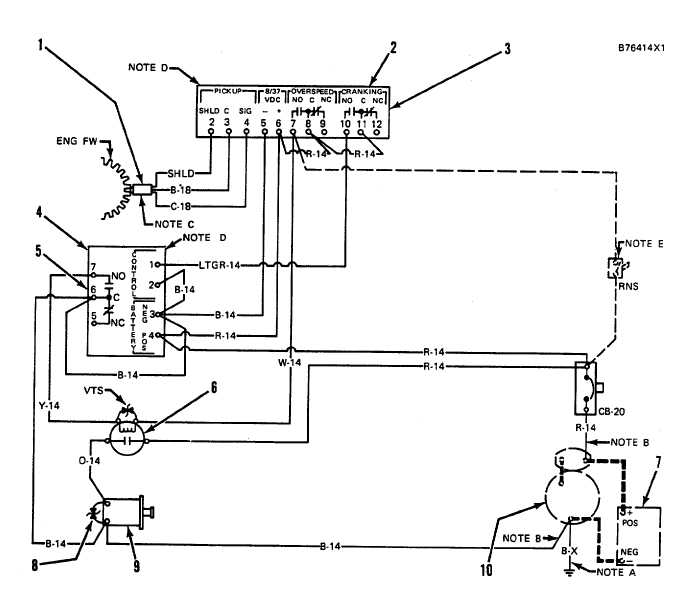 electronic overspeed shutoff system  with time delay relay