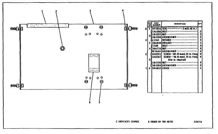 circuit breaker mounting group