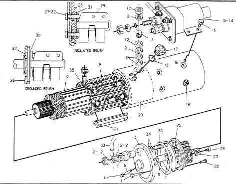STARTING MOTOR GP-ELECTRIC-PART 1 OF 2